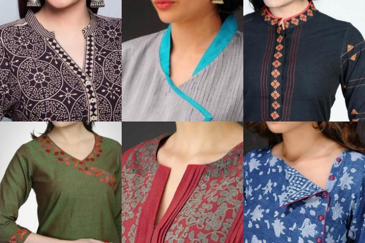 Stylish And Trendy Kurti Neck Designs Fashionshala