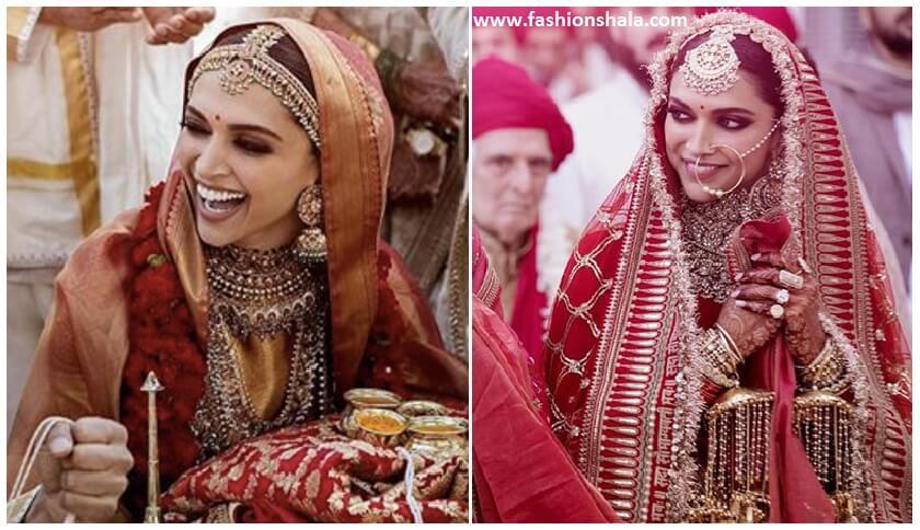 bridal-look-of-deepika-padukone-featured - FashionShala