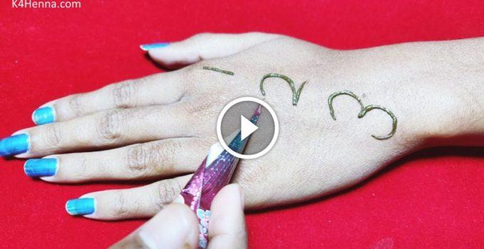 123 Easy Arabic Mehndi Design For Hands Fashionshala